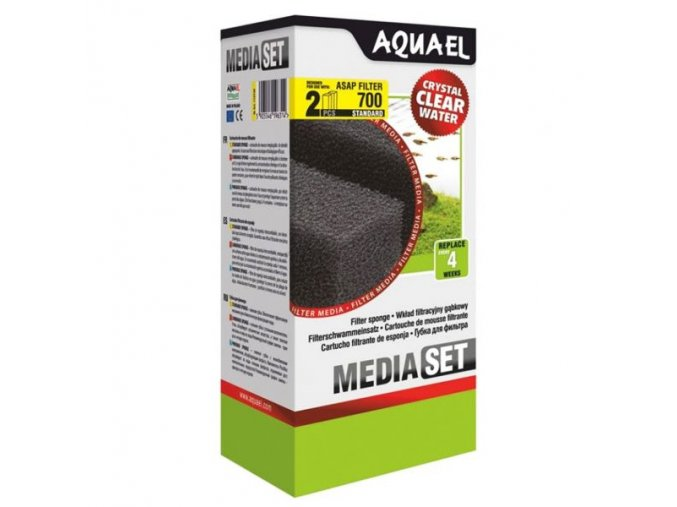 molitan aquael asap filter 700 2 ks