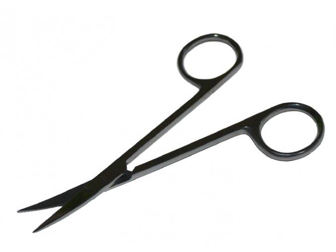 Nůžky zahnuté 12 cm