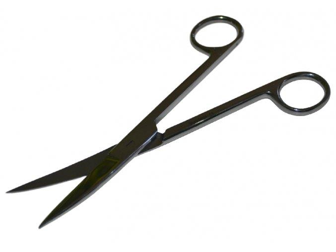 Nůžky zahnuté 18 cm