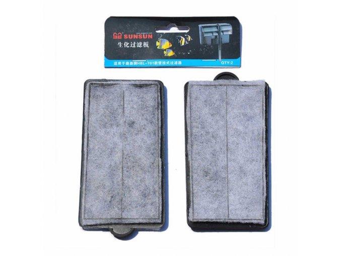 SUNSUN náhradní patrona pro závěsný filtr HBL-701 2ks