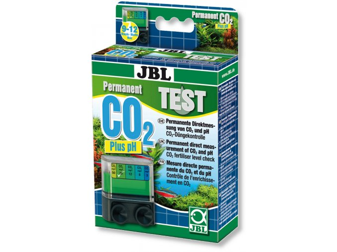 JBL Test-Set CO2/pH - permanentní