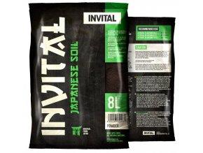 INVITAL Japanese Soil 8l Powder hnědý japonský substrát  (dříve Platinum Soil)