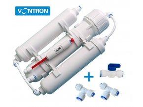 Reverzní osmóza pro akvaristiku 75GPD  + oplachovací ventil zdarma