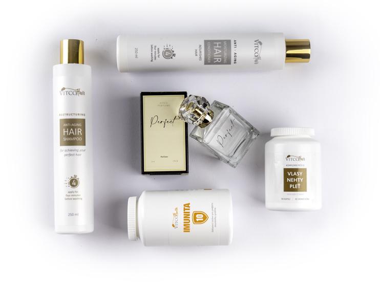 Naše přírodní produkty značky Vitco Herbal