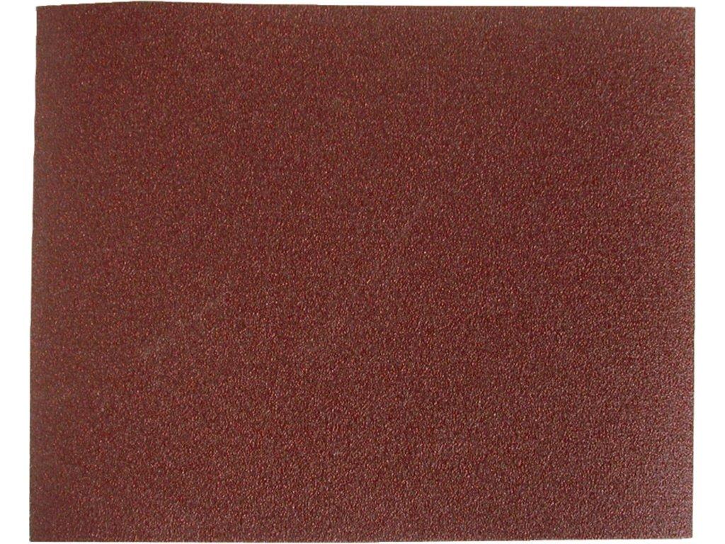 plátna brusná archy, bal. 10ks, 230x280mm, P80