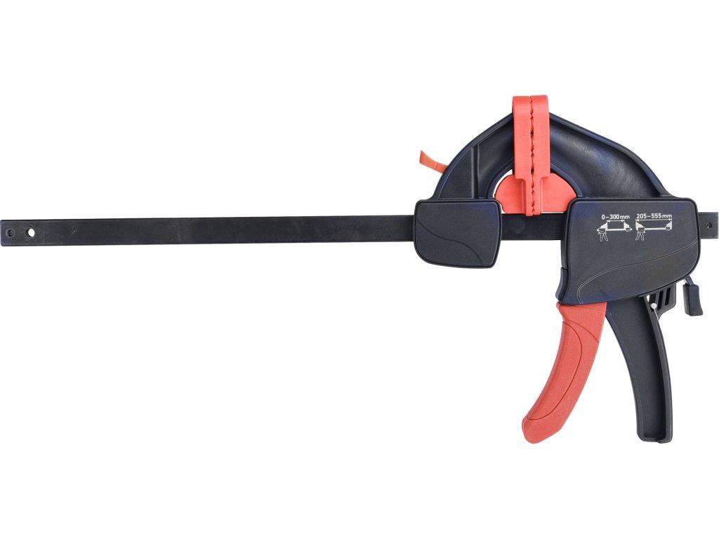 svěrka rychloupínací, 300mm, 205-555mm