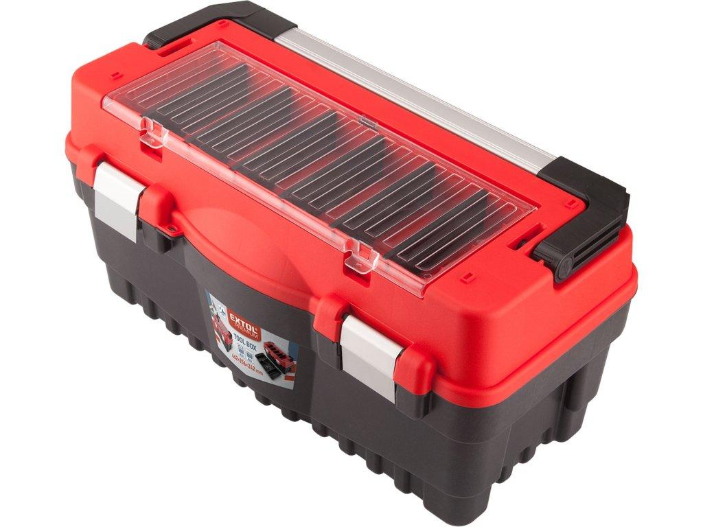 kufr na nářadí CARBO, M velikost, 547x271x278mm