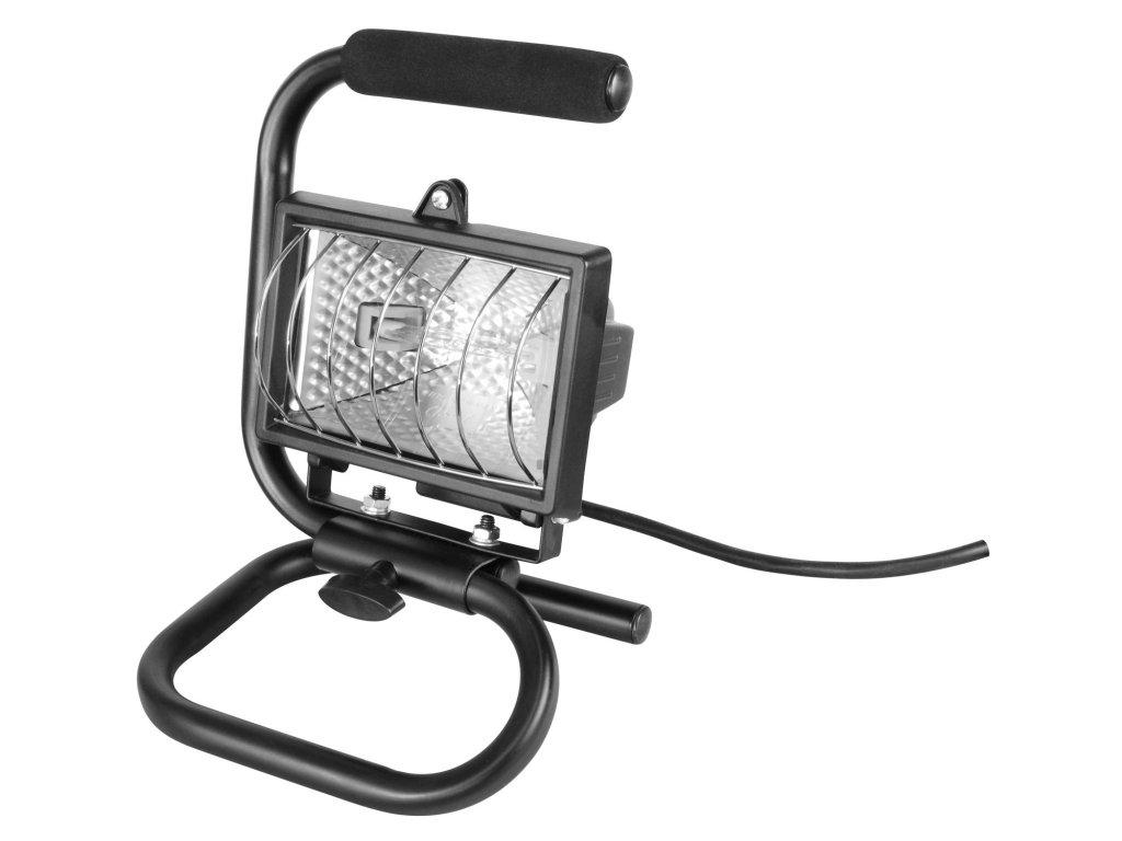 světlo halogenové přenosné s podstavcem, 120W, svítivost jako 150W