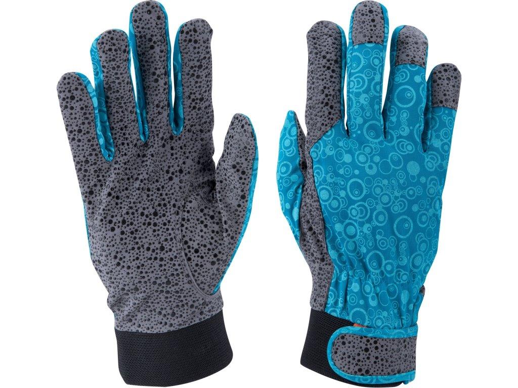 """rukavice zahradní, velikost 10"""""""