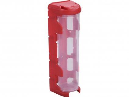 organizér modulový závěsný-červený, LONG (420ml), PP