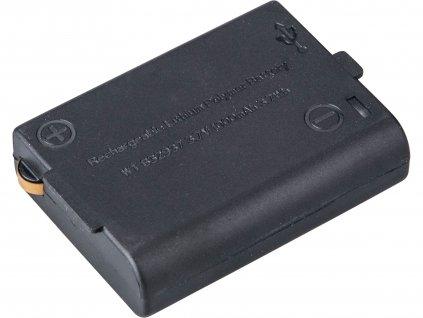 baterie akumulátorová, 3,7V Li-ion, 1000mAh