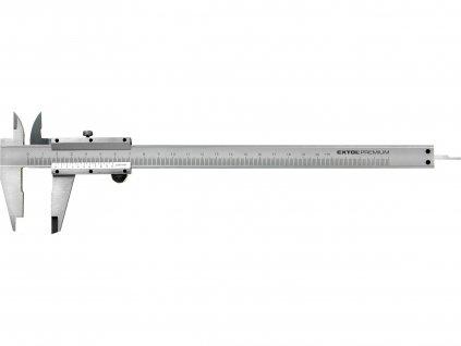 měřítko posuvné kovové, 0-200mm
