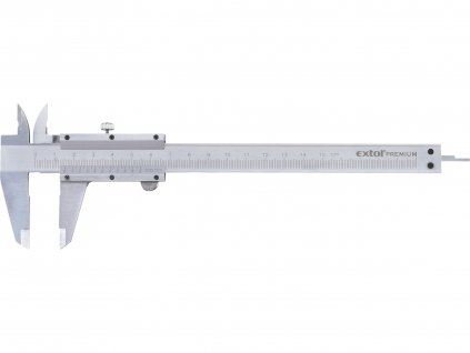 měřítko posuvné kovové, 0-150mm