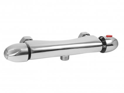 baterie termostatická sprchová univerzální, 100mm, keramický ventil, chrom
