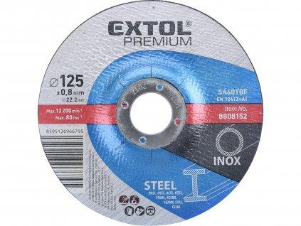 kotouč řezný na ocel/nerez, 125x0,8x22,2mm