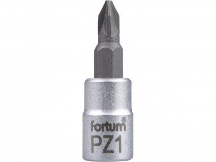 """hlavice zástrčná 1/4"""" hrot pozidriv, PZ 1, L 37mm"""