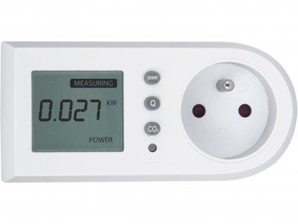 měřič spotřeby el. energie - wattmetr, kW, kWh, CO2