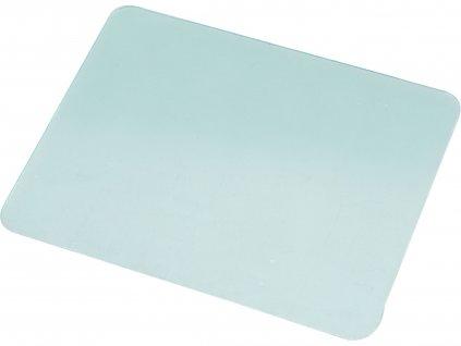sklo ochranné pro svářecí helmu, plastové, 115x90mm