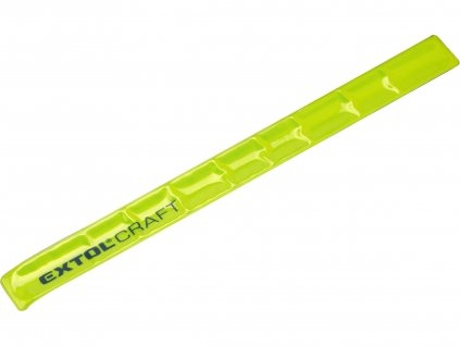 náramek reflexní žlutý, 340x30mm