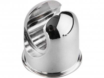 držák pro sprchovou hlavici, kovový, chrom
