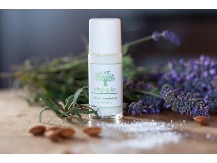 Roll-on deodorant Levandule & Tea Tree - bezobal