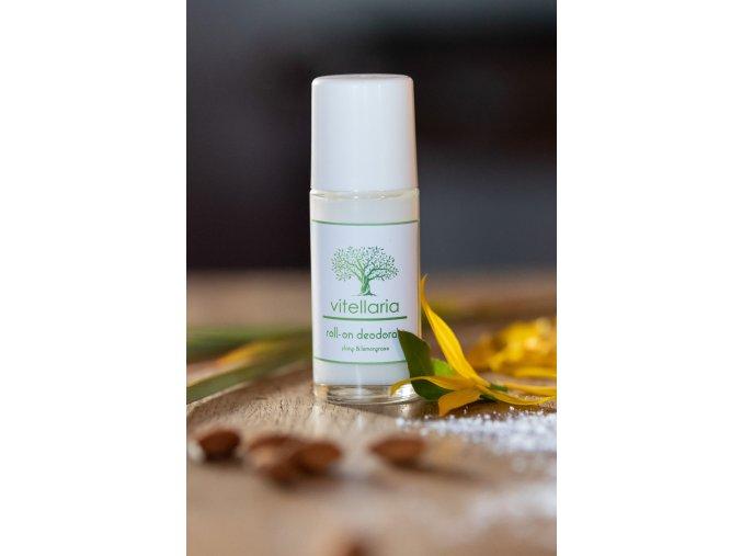 Roll-on deodorant Ylang & Lemongrass - bezobal