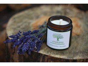 Masážní svíčka - levandule