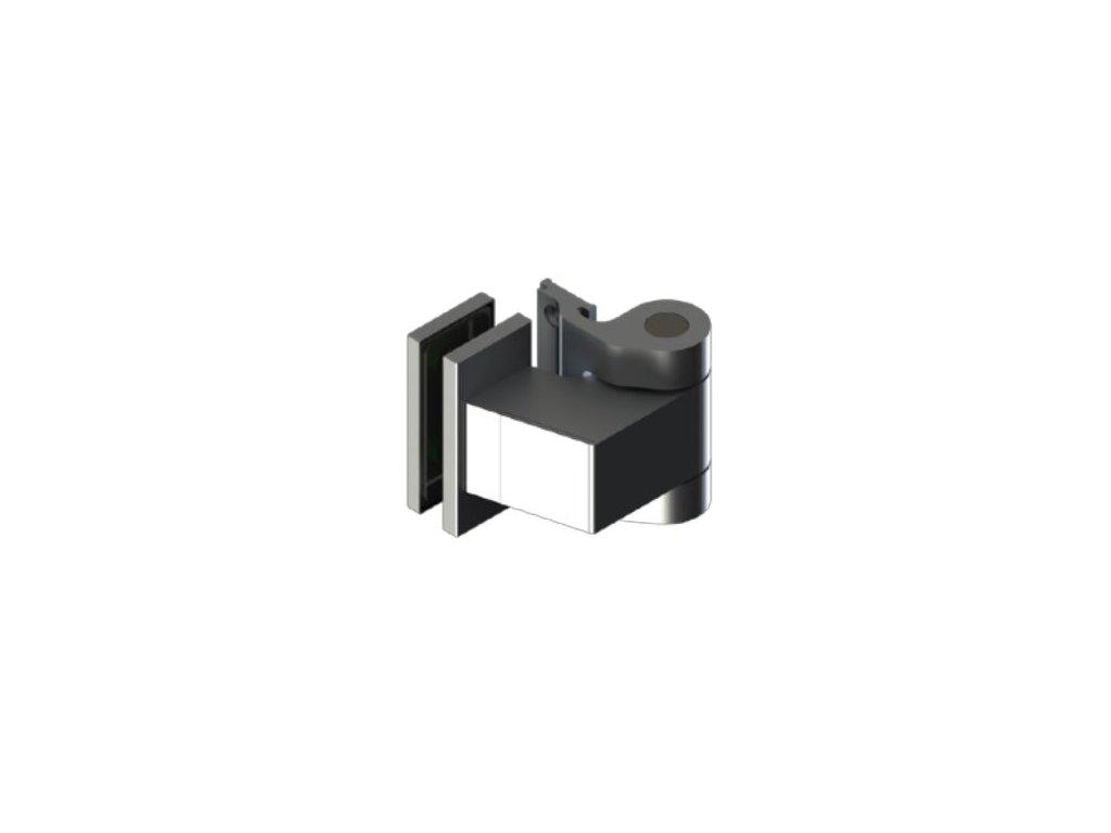 Závěs hydraulický (pár-2ks), samozavírací s regulací, pro zárubně OFC