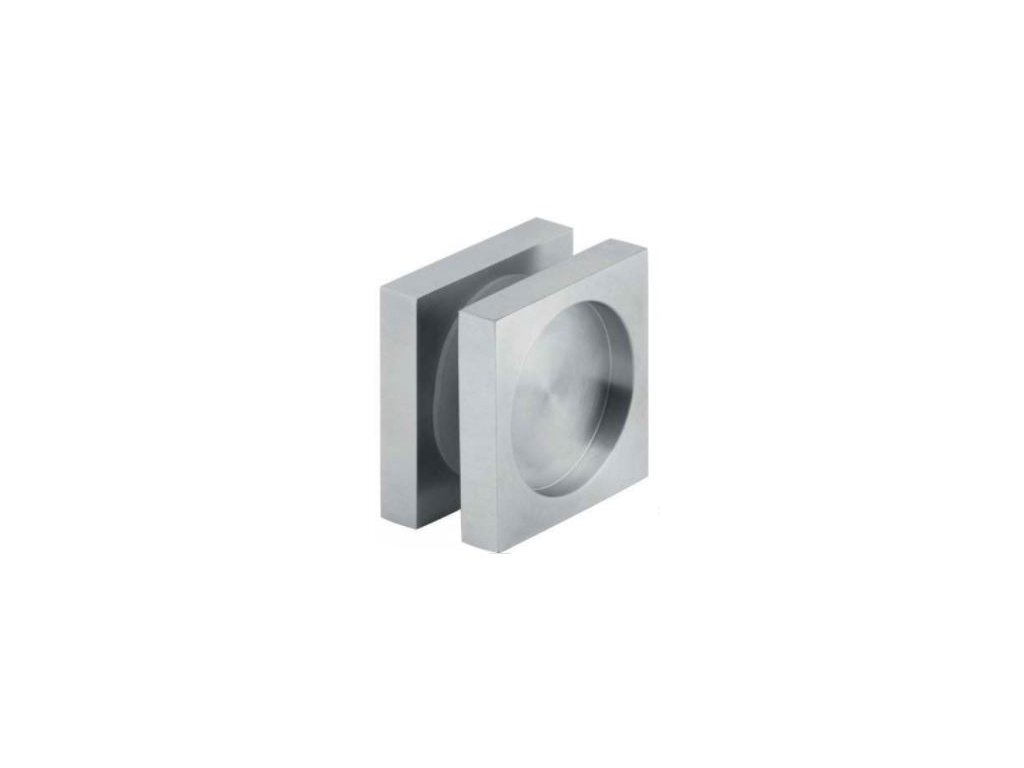 Úchyt pro posuvné dveře hranatý 52x52mm