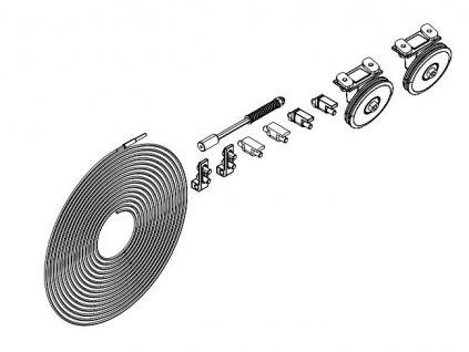MUTO L80 komplet mechanizmu SYNCHRO