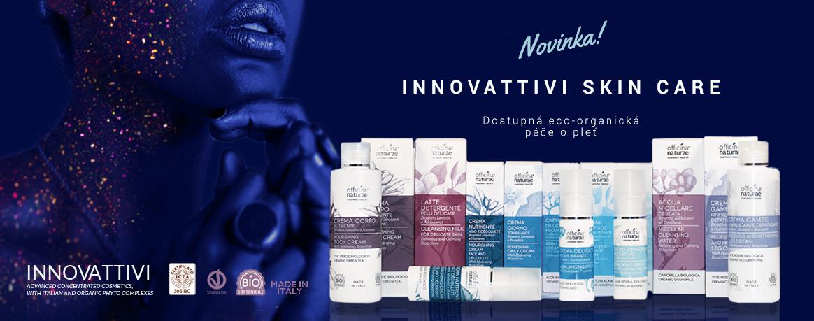 NOVINKA! Organická italská péče o pleť Innovattivi Scin Care.