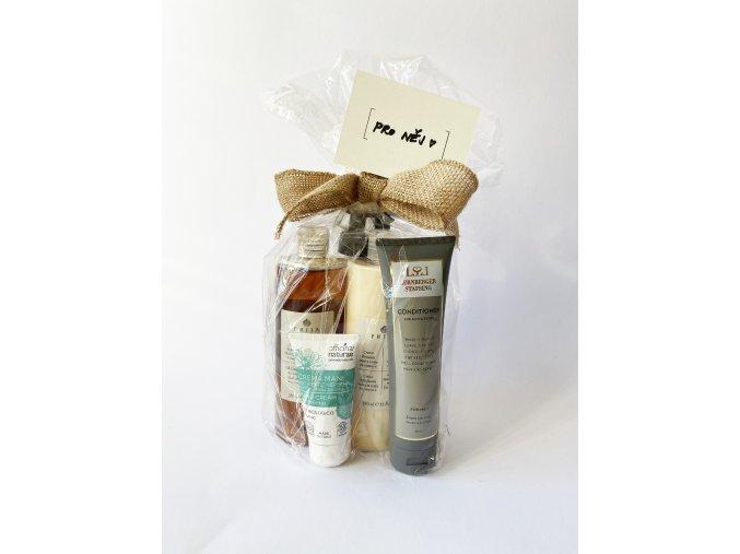 Top z Viva Beauty pro něj (sprchový gel 2v1, tělový krém, kondicionér na vlasy a vousy a krém na ruce)
