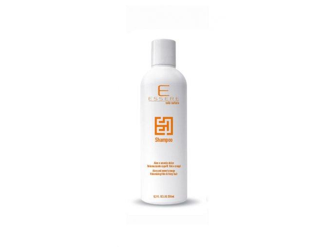 shampoo volumizzante essere aloe e arancio dolce
