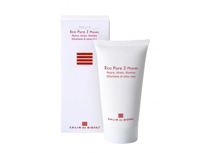 SALIN de BIOSEL Eco Pure 3 Phases maska pro všechny typy pleti 50ml