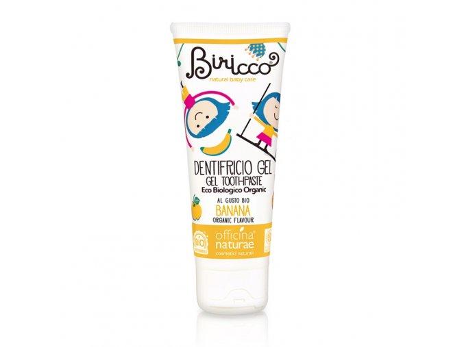 dentifricio gel bimbi banana