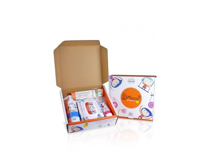 gift box baby berry 6m dentifricio fragola spazzolino baby salviette 20 pz bagnoschiuma
