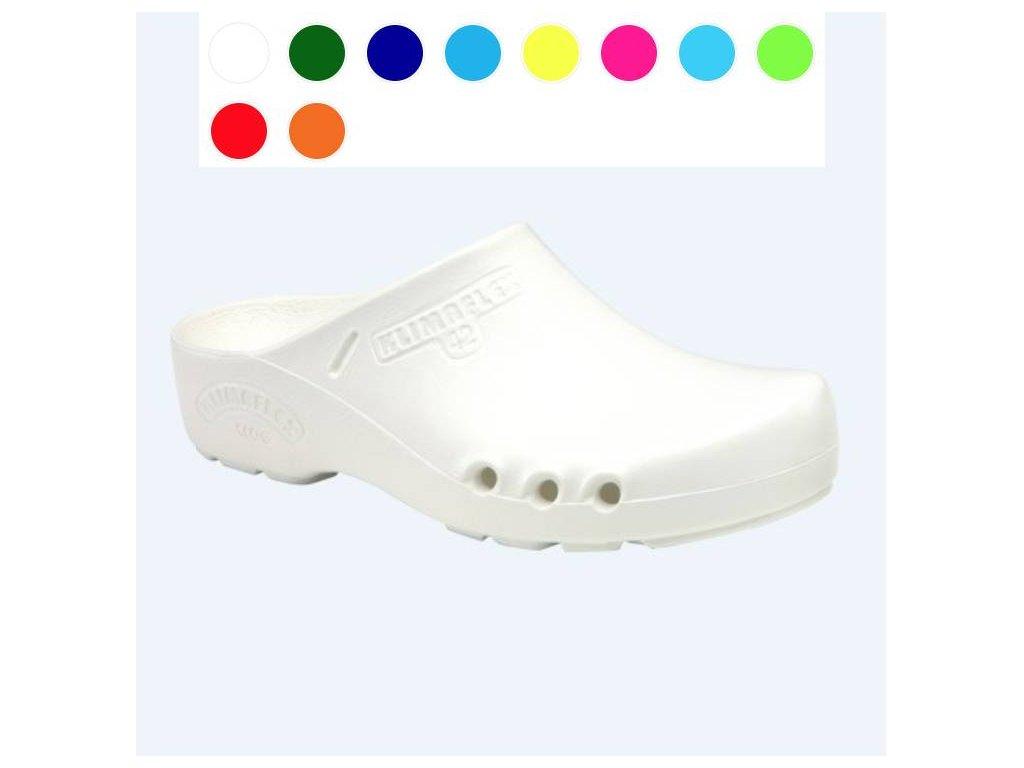 obuv a barvy