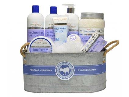 Dárkové balení kosmetiky s kozím mlékem