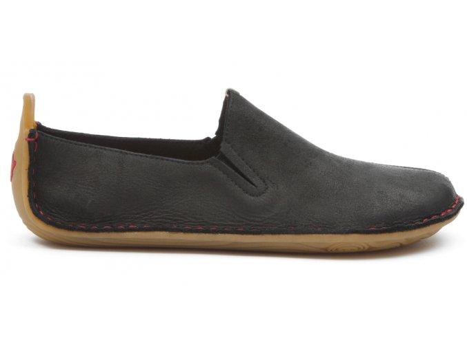 ABABA M Leather Black (Velikost 47)