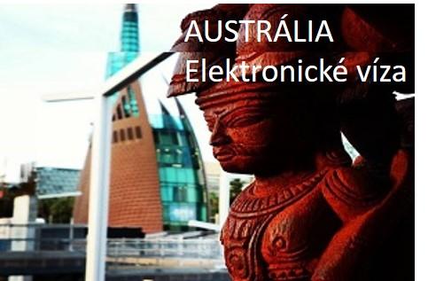 AUSTRÁLIA - elektronické víza
