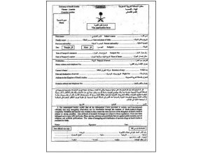 Vizovy dotaznik Saudi