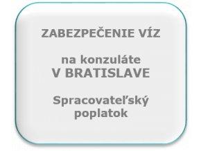 Spracovateľský poplatok, konzulát Bratislava.