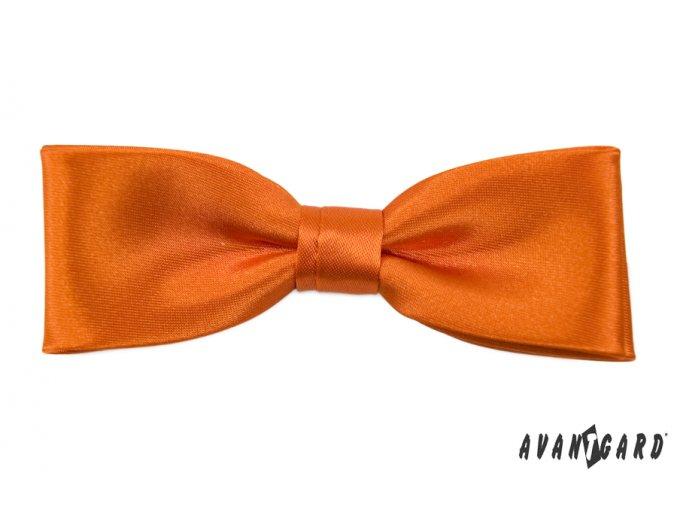 Oranžový pánský motýlek (10 cm)