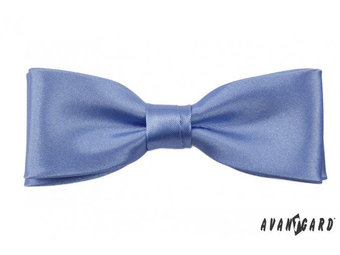 Světle modrý pánský motýlek