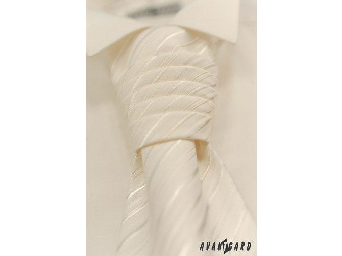 Pánská smetanová košile - FRAKOVKA 454-2
