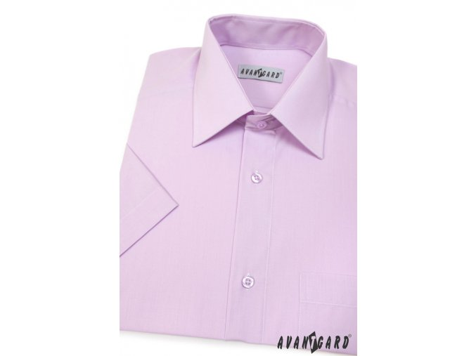 Pánská světle fialová košile KLASIK 351-33