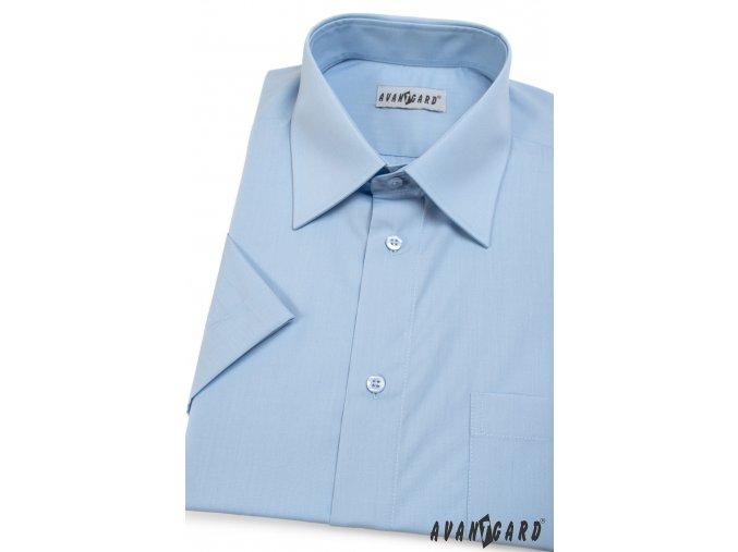 Pánská světle modrá košile KLASIK 351-15