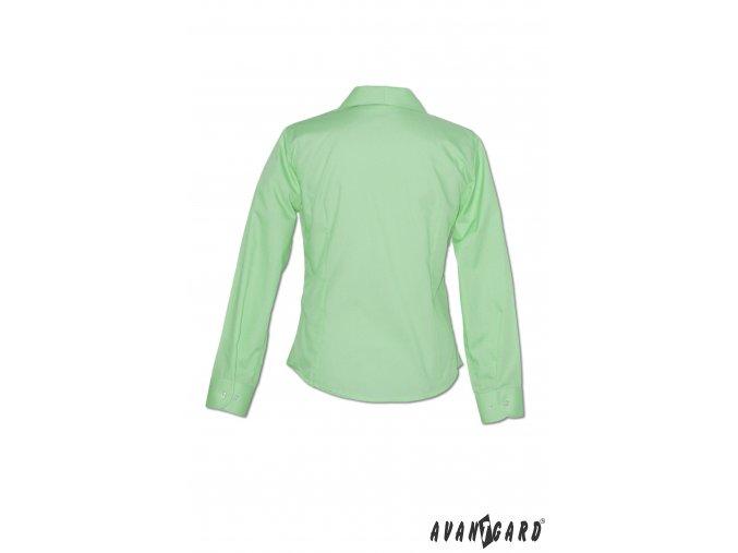 Dámská zelená halenka ALENA 751-8