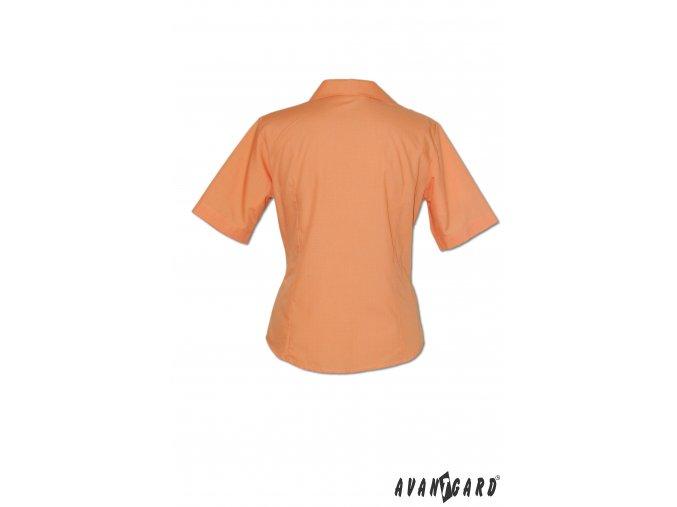 Dámská oranžová halenka ALENA 750-10