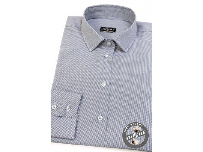 Šedá dámská košile, dl.rukáv, 721-0121